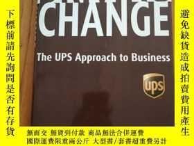 二手書博民逛書店Driving罕見Change: The UPS Approac