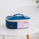 便當包丨日式大容量飯盒手提包卡通學生飯盤便當包扁平加厚帆布上班帶飯包 【618特惠】