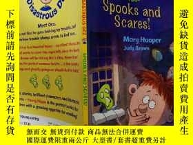 二手書博民逛書店Spooks罕見and Scares!害怕和害怕!Y200392