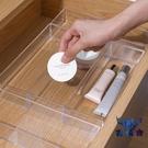 【買二送一】抽屜整理分隔盒桌面收納文具餐具分類收納格【古怪舍】