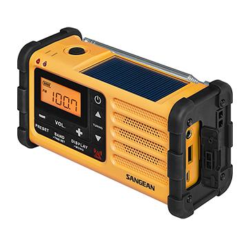 山進 SANGEAN MMR-88 防災收音機 手搖式或太陽能充電 【公司貨】 MMR88