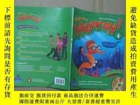 二手書博民逛書店Hip罕見Hip Hooray Second Edition 4 【 含光盤】大16開Y19506 Beat