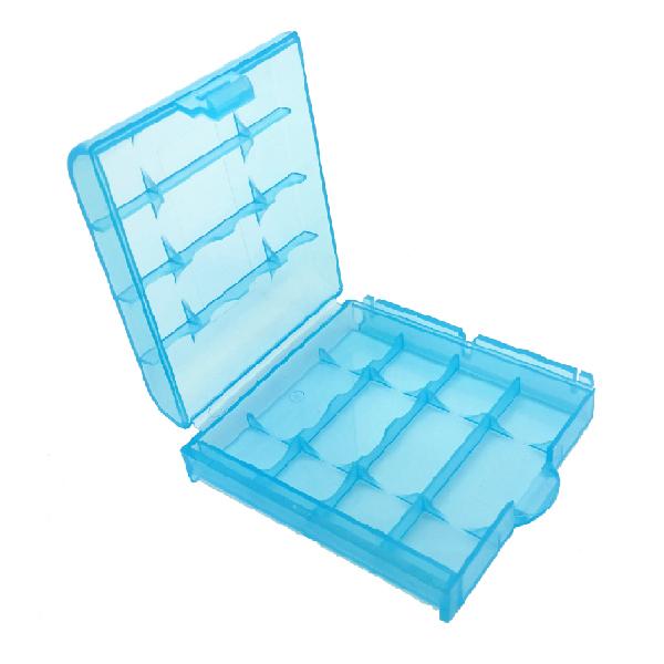 電池盒 電池收納盒 電池保護盒 電池存放盒 三號電池 專用 可放4顆 塑膠電池盒 防塵 防靜電(19-179)