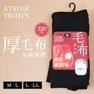 BONJOUR日本ATSUGI厚毛布320丹尼加絨保暖褲襪E.【ZE155-604】I.