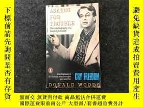 二手書博民逛書店ASKING罕見FOR TROUBLEY236528 Donald Woods Donald Woods