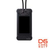 CORESUIT BADGE 證件夾+風格手機掛繩+iPhone6 4.7吋手機殼-黑