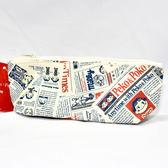 不二家 防水 拉鍊筆袋 化妝包 包包 收納包 日本正版商品 milky 牛奶妹