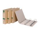 """立強 牛皮紙 環保 檔案夾 美式 孔夾 1-1/2""""圓型 12個/箱 GR654"""