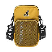 KANGOL 黃色隨身輕量側背包-NO.6125170260