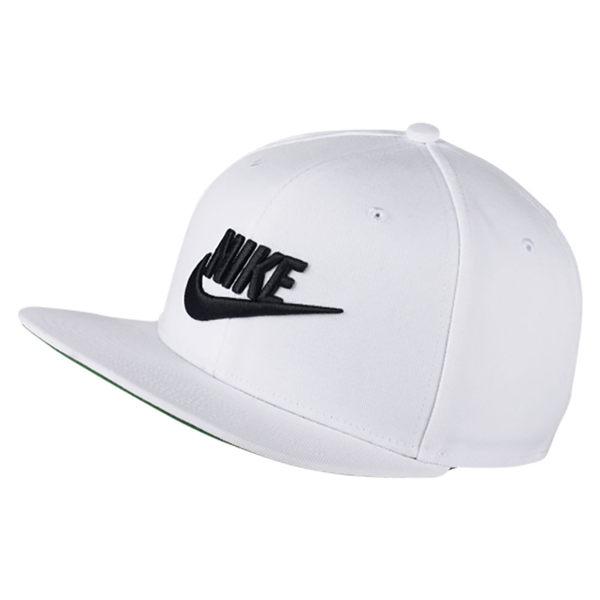 【現貨】 Nike NSW PRO CAP FUTURA 帽子 棒球帽 白【運動世界】 891284-100