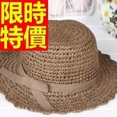 遮陽帽-氣質唯美透氣女防曬帽56g11【巴黎精品】