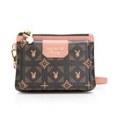 PLAYBOY- 零錢包附手挽帶 Coral Garden珊瑚花園-愛麗絲系列 -粉紅色
