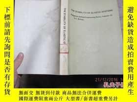 二手書博民逛書店the罕見stability of elastic system
