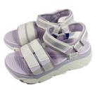 (C5) SKECHERS 女鞋 MAX CUSHIONING 涼拖鞋 厚底涼鞋 輕量Q彈140424WLV粉芋紫 [陽光樂活]