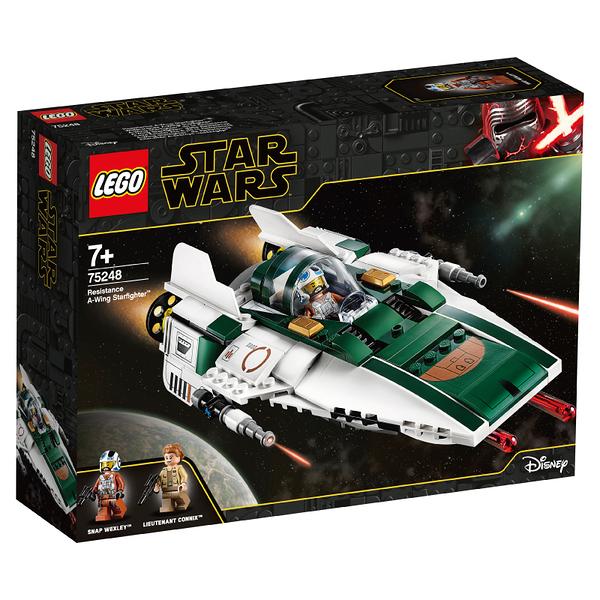 LEGO樂高 星際大戰系列 75248 Resistance A-Wing Starfighter™ 積木 玩具