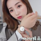 手錶女防水時尚學生休閑石英錶