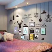 【買一送一】墻貼壁紙墻紙自粘宿舍溫馨房間裝飾客廳背景墻臥室貼畫海報3D立體xw 免運商品