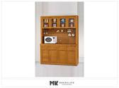 【MK億騰傢俱】ES720-05香檜5.2尺碗盤餐櫃(全組)(不含石面)