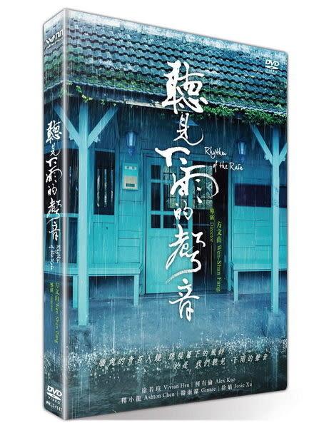 聽見下雨的聲音 限量珍藏版 DVD 國片  (購潮8)