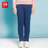 JJLKIDS 女童 運動吧!女孩顯瘦運動褲(藏青)