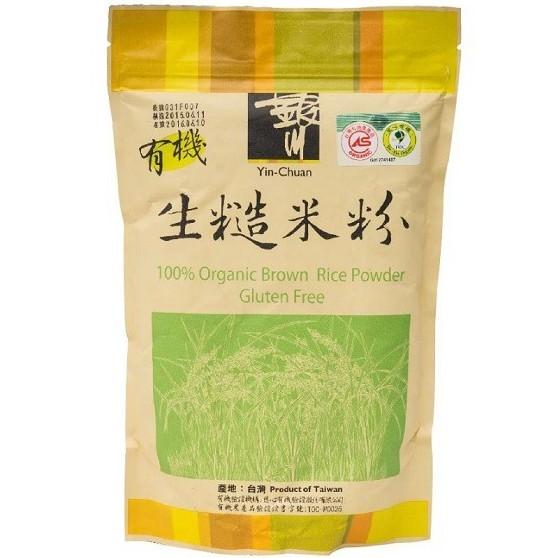 銀川 有機生糙米粉(生) 600g/包
