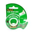 3M 思高牌 Scotch 可手撕隱形膠帶附膠台 NO.105-TW 3/4 19mm X 7.5m