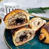 可頌-巧克力 200g(4入裝)*5袋/箱★愛家非基改純淨素食 香濃純素點心 全素美味輕食 VEGAN Croissant