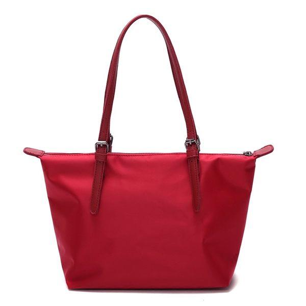 DE Shop~(M-970)防水包女單肩包牛津布尼龍女包通勤手提包托特包大包包