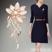 韓國時尚胸花 高檔西裝胸針女開衫毛衣外套別針披肩扣配飾 糖糖日系森女屋
