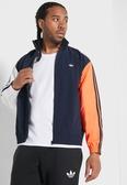IMPACT Adidas Shadow Windbreaker 拼接 風衣 外套 易烊千璽 橘 白 藍 FM1537