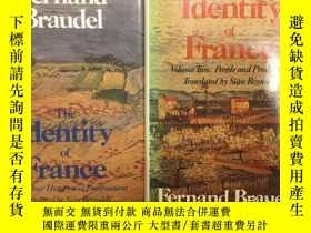 二手書博民逛書店The罕見Identity of France: Volume