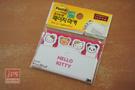 3M Post-it×Sanrio Hello Kitty 造型狠黏標籤紙 (粉)