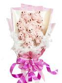 娃娃屋樂園~熊熊告白花束 每束1800元/花束商品/金莎花束