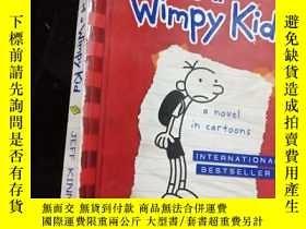 二手書博民逛書店英文原版罕見Diary of a Wimpy Kid, a No