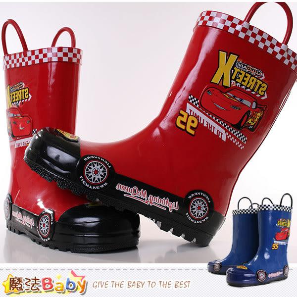 男童雨鞋 迪士尼閃電麥坤授權正版兒童長靴 魔法Baby