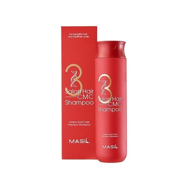 韓國 Masil 三次方沙龍洗髮水(300ml)【小三美日】沙龍CMC胺基酸修復洗髮精