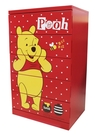 【震撼精品百貨】Winnie the Pooh 小熊維尼~台灣授權木製五斗櫃-紅底#52964