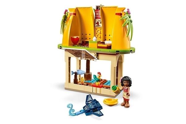 【LEGO樂高】迪士尼公主系列 -  莫娜的島嶼之家#43183