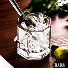 玻璃保溫紅酒啤酒冰桶家用KTV酒吧歐式冰塊香檳桶冰粒桶 DJ10382『麗人雅苑』