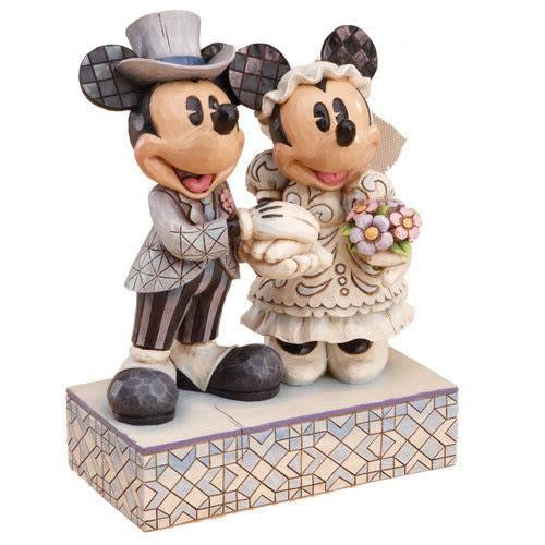 【震撼精品百貨】Disney 迪士尼~Enesco精品雕塑-迪士尼米奇&米妮婚禮塑像【共1款】