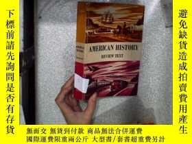二手書博民逛書店AMERICAN罕見HISTORY REVIEW TEXT 美國