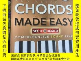 二手書博民逛書店Piano罕見and Keyboard Chords Made Easy Comp...Y189461