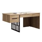 【采桔家居】布米斯 時尚5尺木紋書桌/電腦桌