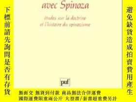 二手書博民逛書店Avec罕見SpinozaY255562 Pierre Macherey Presses Universita