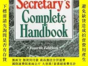 二手書博民逛書店Legal罕見Secretary s Complete Handbook (4th Edition)Y2555