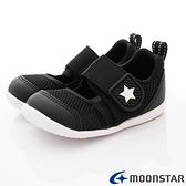 日本Moonstar月星機能童鞋2E速乾學步鞋款 1176黑(寶寶段)