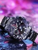 手錶 男士手錶全自動機械錶時尚潮流學生男士手錶防水運動夜光高中男【免運】