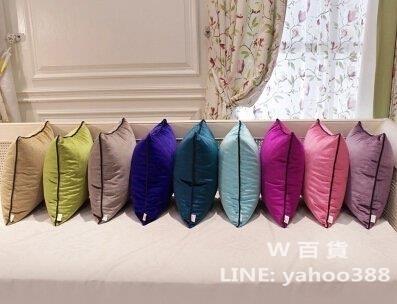 純色靠墊抱枕 韓國絨枕頭 含枕芯
