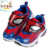 《布布童鞋》Marvel蜘蛛人火熱紅藍色兒童電燈運動鞋(18~22.5公分) [ B8S142A ]