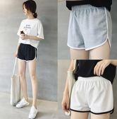 買1送1 短褲女 女夏新款寬鬆學生健身休閒跑步睡褲百搭打底闊腿褲子